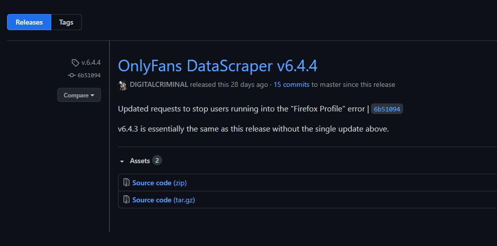 Onlyfans Profile Scrapper