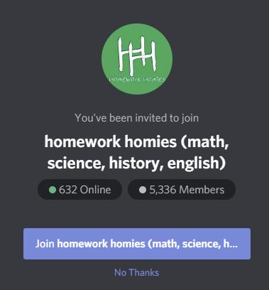 Homework Homies