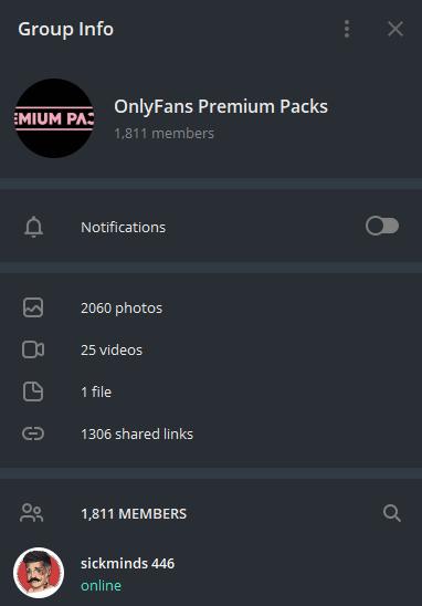 OnlyFans Premium Packs