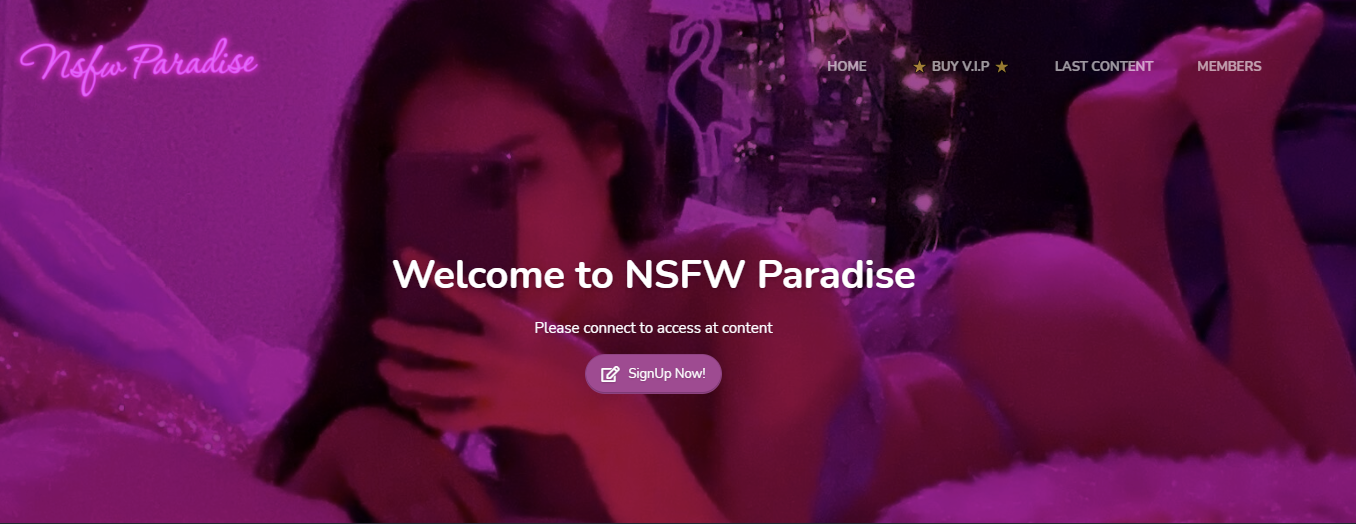 Nsfw Paradise