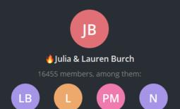 Julia & Lauren Burch
