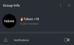 Taboo 18+